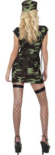 Sexy Soldaten-Kostüm für Damen-1