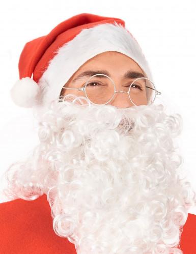 Brille Weihnachtsmann für Erwachsene-1