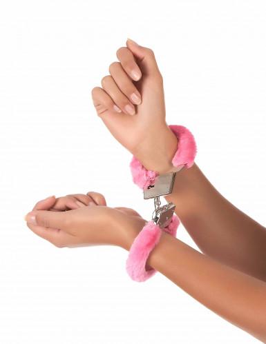 Rosa Handschellen-1
