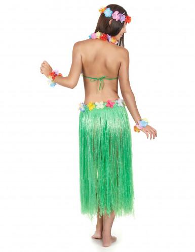 Hawaï Set für Erwachsene. In Grün.-2