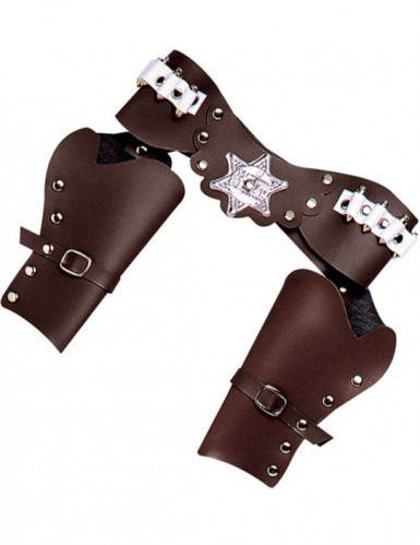 Cowboy Holster braun