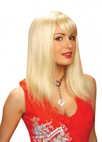 Natürlich aussehende blonde Perücke für Damen