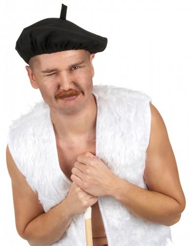 Baskenmütze traditionell schwarz-1
