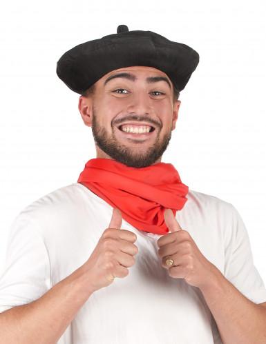 Baskenmütze traditionell schwarz-2