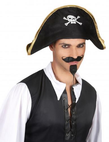 Piratenkapitänshut für Erwachsene-1