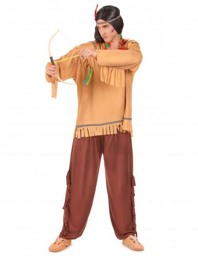 Indianer-Männerkostüm bunt-1