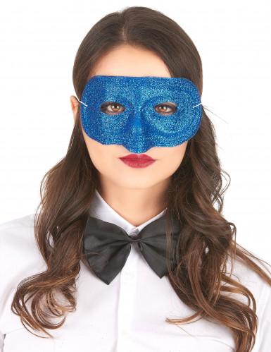Halbmaske mit Pailletten für Erwachsene-3