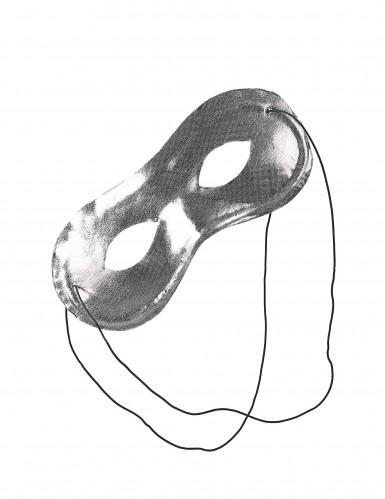 Halbmaske Metallik für Erwachsene-1