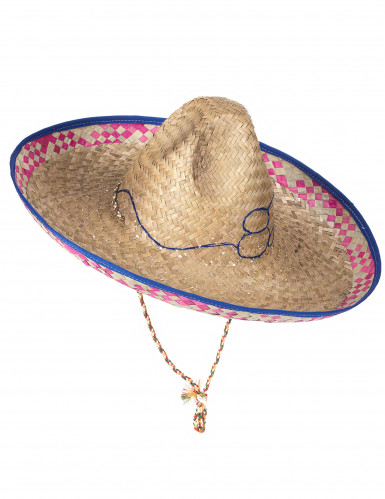 Mexikanerhut aus Stroh für Erwachsene-4