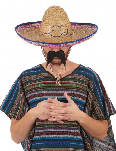 Mexikanerhut aus Stroh für Erwachsene-5