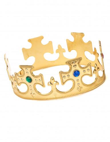 Goldfarbene Krone für Herren