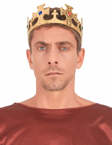 Goldfarbene Krone für Herren-2