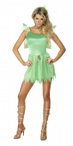 Sexy grünes Feen-Kostüm für Damen