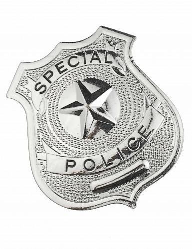 Polizisten-Ansteckpakette aus Metall für Erwachsene