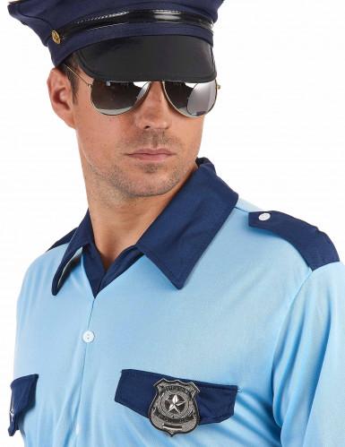 Polizisten-Ansteckpakette aus Metall für Erwachsene-1