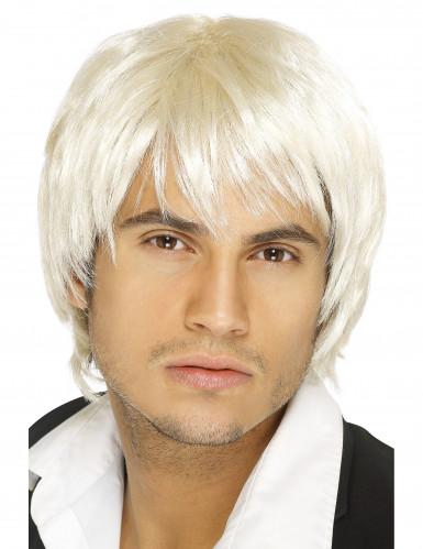 Boys Band-Perücke für Herren, blond