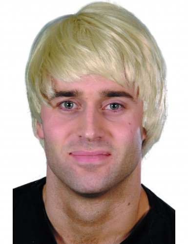 blonde Kurzhaar-Perücke für Herren