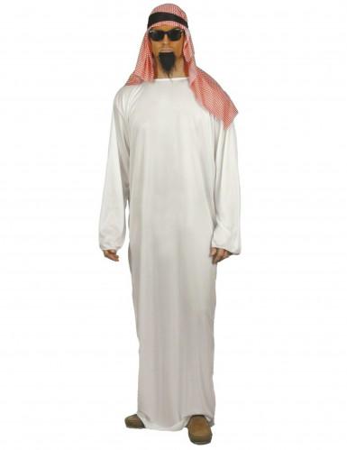Arabischer-Scheich-Kostüm für Herren weiß