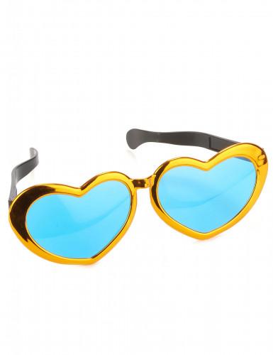 Riesen-Brille, herzförmig