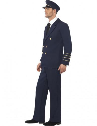 Flugpiloten-Kostüm für Herren-2