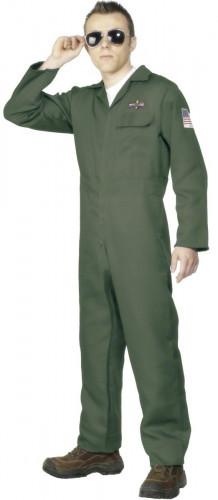 Düsenjägerpiloten-Kostüm für Herren