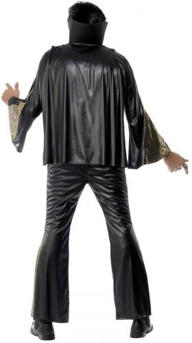 Elvis Presley™- Kostüm für Herren Lizenz schwarz-gold-1