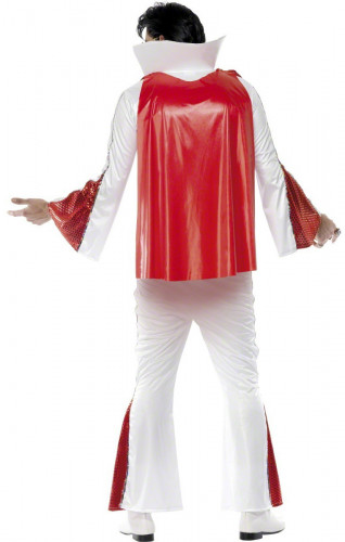 Elvis Presley™- Lizenzkostüm für Herren weiss-rot-1