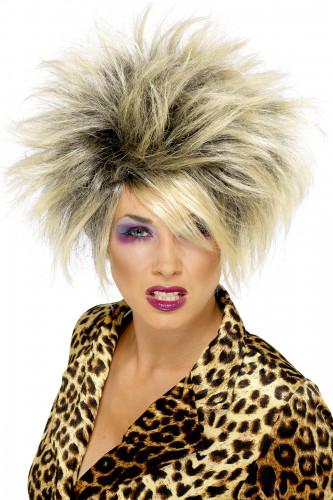 Wilde blonde Perücke für Damen