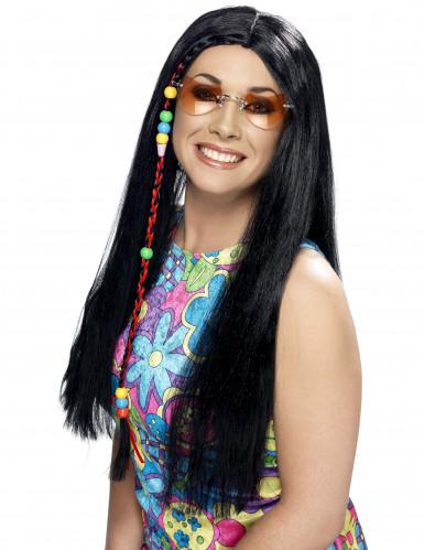 Hippie Damenperücke