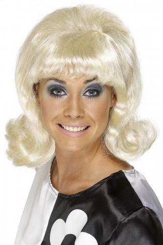 Blonde, 60er-Jahre Perücke für Damen