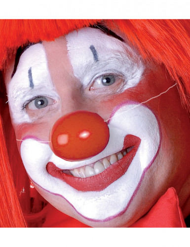 Clownnase aus Kunststoff