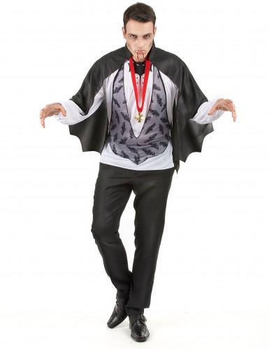 Dracula-Kostüm Halloween für Herren