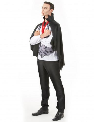 Dracula-Kostüm Halloween für Herren-1