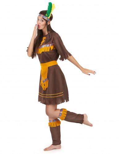 Indianerinnenkostüm für Damen-1