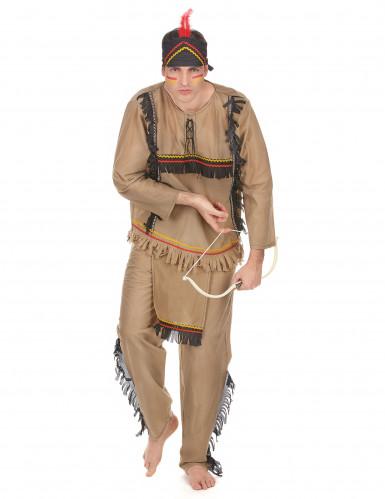 Indianer Herrenkostüm bunt