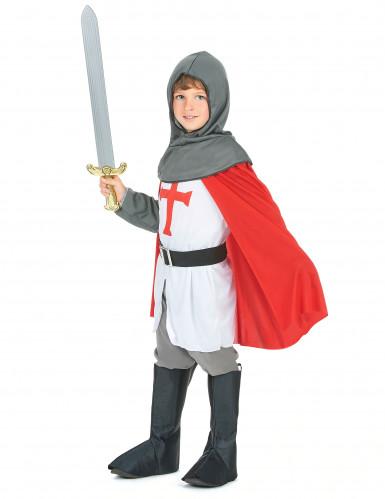 Mittelalter-Kreuzritter-Kostüm für Jungen-1