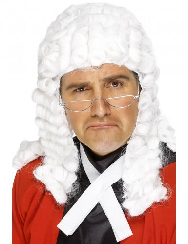 Richterperücke weiß für Herren