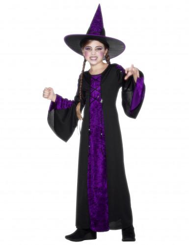 Hexen - Kostüm Halloween für Mädchen