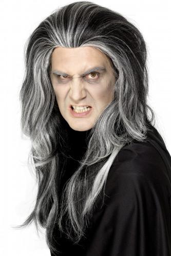 Vampir-Perücke Halloween für Erwachsene