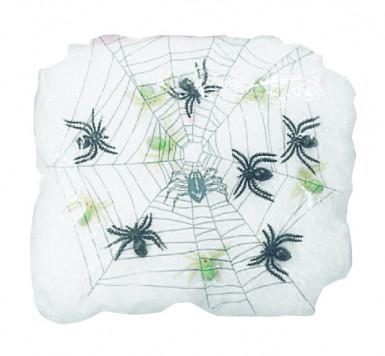 Spinnennetz Halloween 90g