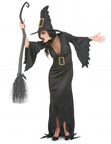 Hexenkostüm Halloween für Damen-1
