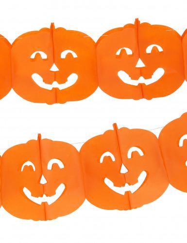 Kürbisgirlande Halloween-1