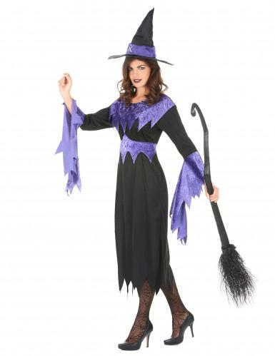 Hexen-Kostüm Halloween für Damen-1