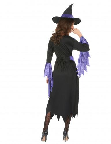 Hexen-Kostüm Halloween für Damen-2
