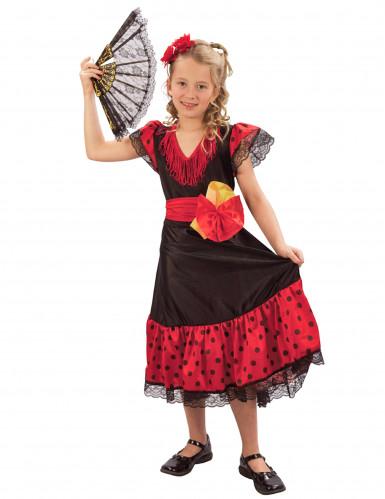 Spanierinnenkostüm für Mädchen
