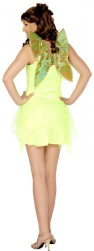 Sexy Feen-Kostüm Grün für Damen-1