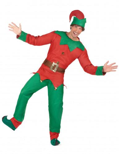 Weihnachtswichtel-Kostüm für Herren-1