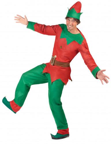 Weihnachtswichtel-Kostüm für Herren-2
