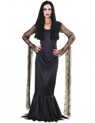 Offizielles Morticia-Kostüm aus der Addams Family™ für Damen
