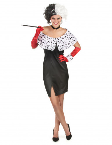 Sexy Dalmatiner-Frau Kostüm für Damen